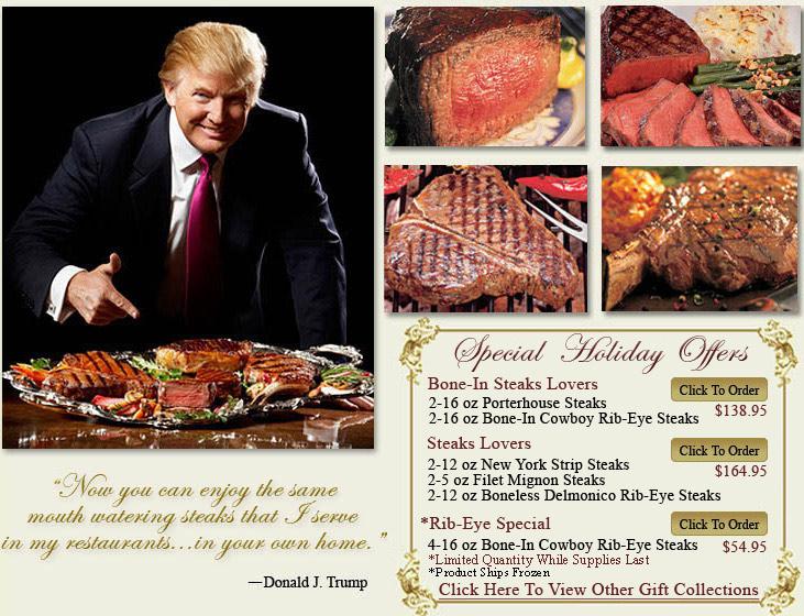 Trump Steaks Trump Steaks