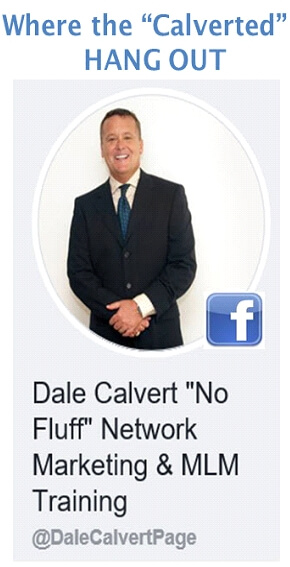 Dale Calvert No Fluff Network Marketing and MLM Training